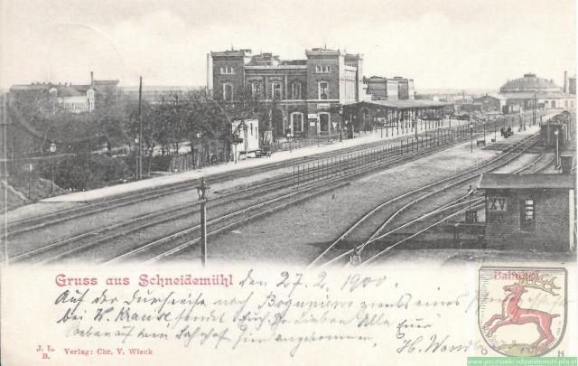 Bahnhof südseite