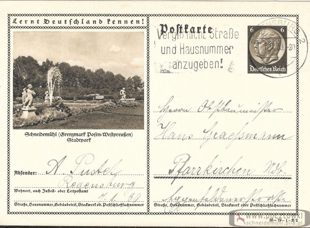 Stadtpark 07.01.1939