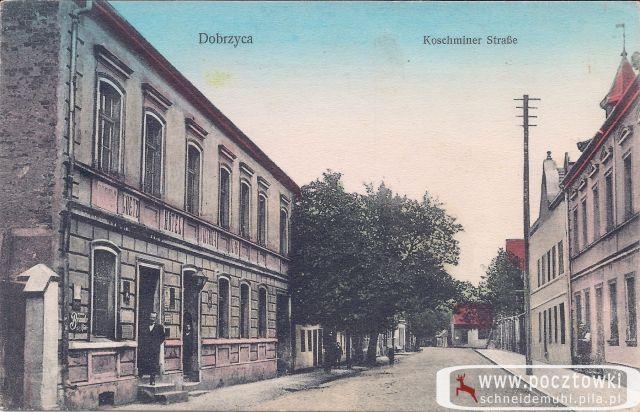 Dobrzyca, Koschminer Strasse 13.06.1913 rok
