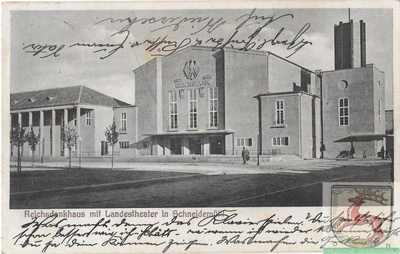 Reichsdankhaus mit Landestheater