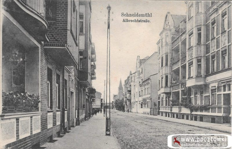 Alberchtstrasse mit Johanniskirche