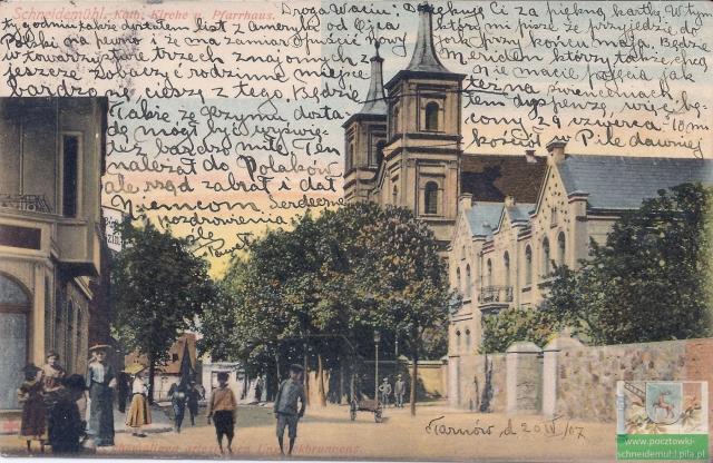 Kościół św. Janów z plebanią