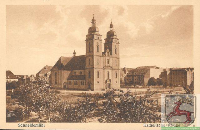 Katholische Kirche, Kościół św. Rodziny 19.03.1929