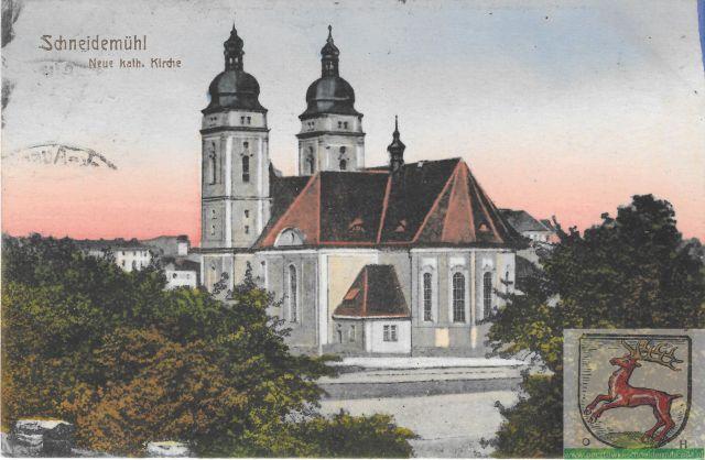 Katholische Kirche, Kościół św. Rodziny 07.02.1925r.