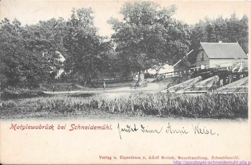 Motylewobrück bei Schneidemühl