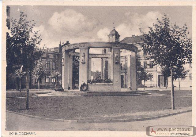 Heldenkmal Stary Rynek 25.05.1934 rok