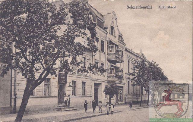 Alter Markt Stary Rynek 1916 rok