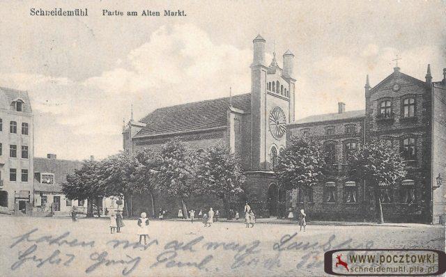 Christuskirche Kościół Jana Czerskiego Stary Rynek 15.08.1914 rok