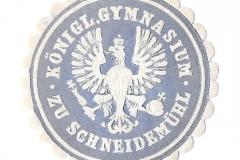 Königl Gymnasium zu Schneidemühl