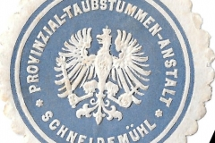 Provinzial - Taubstummen - Anstalt - Schneidemühl
