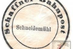 Schaffner - Bahnhof