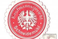 Kaufmannsgericht Schneidemühl