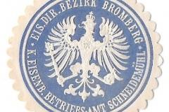 Eisenbahn Direktions Bezirk Bromberg - Königliches Eisenbahn Betriebs - Amt Schneidemühl)=