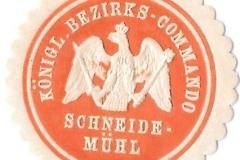 Königl. Bezirks - Commando Schneidemühl