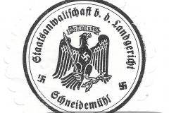 Staatsanwaltschaft bei dem Landgericht Schneidemühl