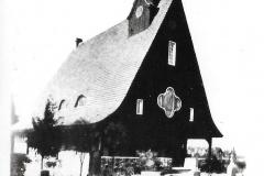 Kaplica na cmentarzu ewangelickim - ul. Dąbrowskiego