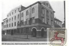 Sparkasse Provinzialbank Handelsschule Foto - Rassmann