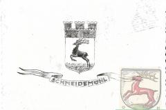 SCHNEIDEMÜHL Wappen/Stadtwappen