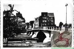 Adolf Hitler Straße mit  Karl Krause Brücke