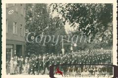 Foto Feier Elite Soldaten marschieren