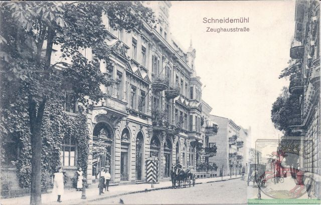Zeughausstraße 1 Maja, pl.   Konstytucji 3 Maja 4.07.1909