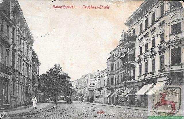 Zeughausstraße 1 Maja, pl. Konstytucji 3 Maja 20.11.1915 rok
