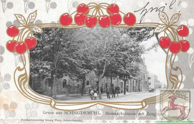 Bismarckstraße/Zeughausstraße Buczka/1 Maja, pl. Konstytucji 3 Maja 02.01.1906