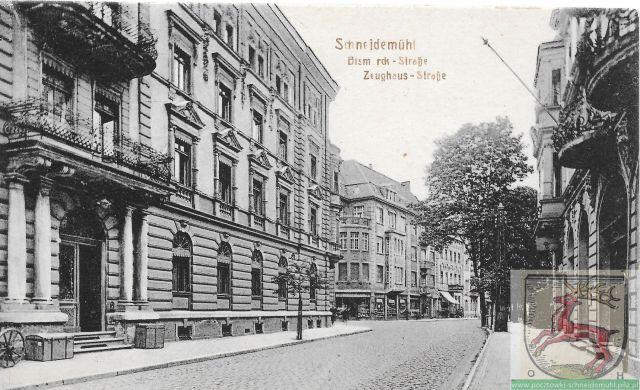 Bismarckstraße/Zeughausstraße Buczka/1 Maja, pl. Konstytucji 3 Maja