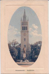 Stadtkirche Kościół miejski 30/10/1915
