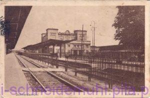Bahnhof, 24.6.1926