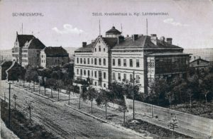Städt. Krankenhaus u. Kgl. Lehrerseminar Szpital miejski, 26/2/1916