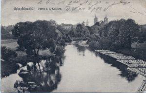Kościół św Janów, widok na rzekę