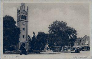 Neuer Markt, Evangelische Kirche, 13/4/1933