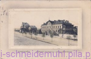 Stadtisches Krankenhaus u. Konigl. Lehrerseminar Szpital Miejski 19.9.1912