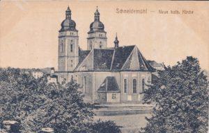 Neue kath. Kirche Kościół św. Rodziny 18.11.1919