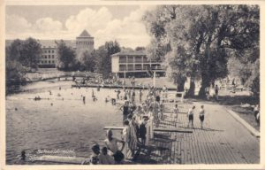 Stadt badeanstalt Kąpielisko miejskie 11.5.1942
