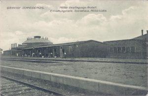 Bahnhof Militär Verpflegungs-Anstalt Erfrischungshalle, Speisehaus, Militärküche