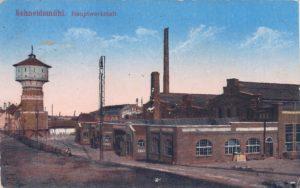 Hauptwerkstatt Warsztaty kolejowe 4.9.1917