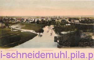 Litografia panorama miasta