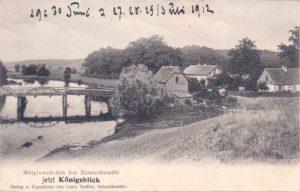 Motylewobrück bei Schneidemühl Königsblick