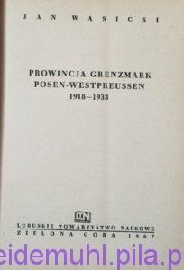 Genzmark Posen Westpreusen