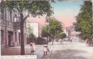 Neue Bahnhof Straße 14.9.1914