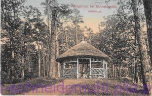 Königsblick bei Schneidemühl Waldtempel 11.7.1915
