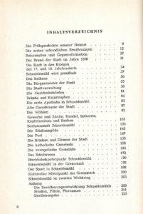 Geschichte der Stadt Schneidemuhl, Karl Boese Spis treści