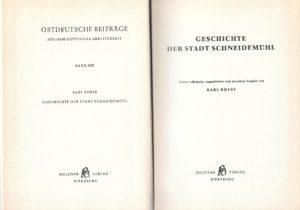 Geschichte der Stadt Schneidemuhl, Karl Boese