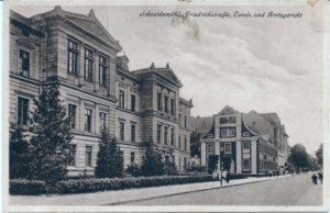 Friedrichstrasse, Land- und Amtsgericht Sąd