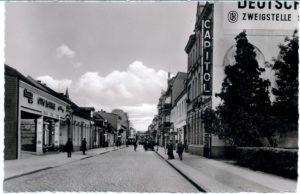 Friedrichstraße, kartka fotograficzna, kino Capitol