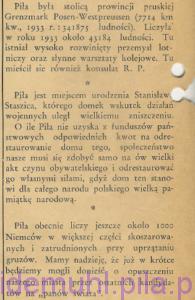 Ciekawe drobiazgi w: Piła Mówi, 7 lipca 1946, Rok 1, nr 1, str. 12
