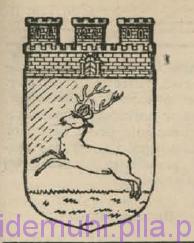 Herb Piły w: Głos Pilski, nr 1 (9) rok II, str 2