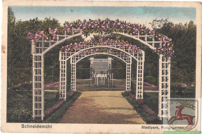 Stadtpark, Rosengarten